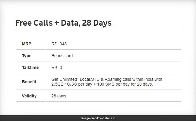 vodafone rs 348 recharge website
