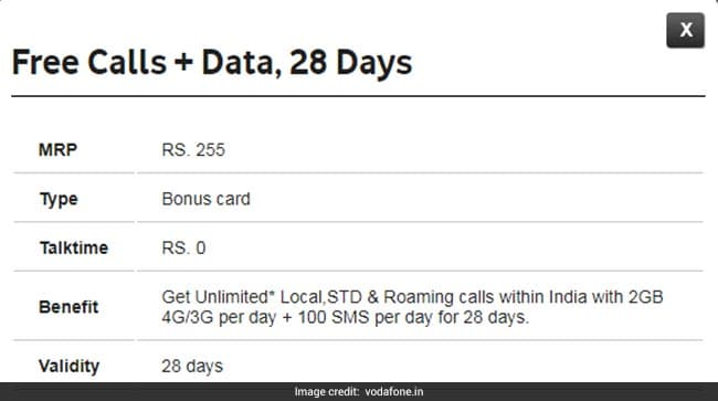 To Counter Jio, Airtel, Vodafone Introduces Rs 255 Plan, Offers 2GB Data Per Day