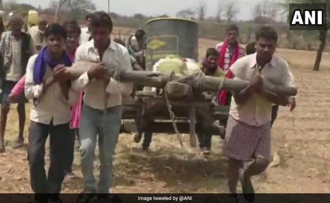 28e3ad5055 Farmers, Not Buffaloes, Lug Around Carts In This Village. Reason Is Water