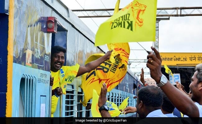 'Whistle Podu Express' Full Of Chennai Fans Reaches Pune For IPL Match