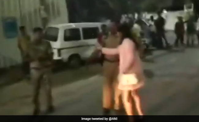 On Video, Hyderabad Woman, Allegedly Drunk, Argues With Cops