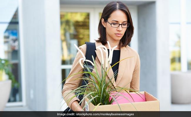 women leaving office