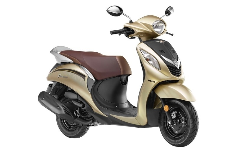Yamaha Fascino now gets a brand new Glamorous Gold colour option