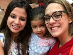 IPL 2018: Another Day, Another Cute Pic of Ziva Dhoni (With Mom Sakshi And Hazel Keech)