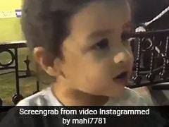 IPL 2018: धोनी की बेटी जीवा ने मैच के बीच कर दी यह जिद, 40 लाख बार देखा गया Video