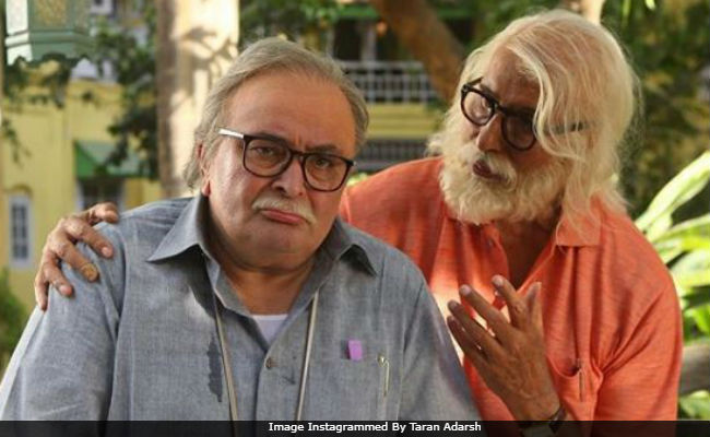 Amitabh Bachchan-Rishi Kapoor's 102 Not Out witnesses growth on Day 2