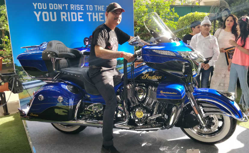 2018 Indian Roadmaster Elite Launched In India; Priced At ₹ 48 Lakh