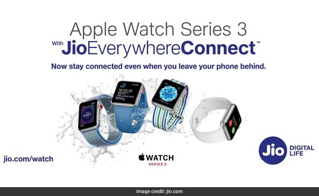 Reliance Jio Offers On Apple Watch Series 3