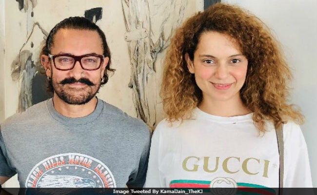 Kangana Ranaut In A Film With Aamir Khan? Details Here