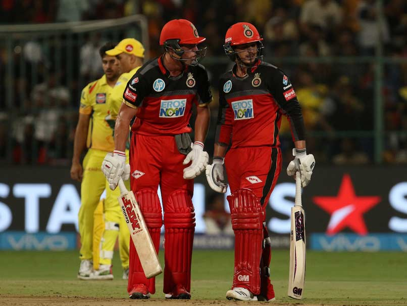 IPL 2018: AB De Villiers Fit, Quinton De Kock To Miss Royal Challengers Bangalore's Game vs Chennai Super Kings