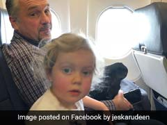 Man Comforts Panicking Children On Flight, Becomes Internet's New Hero