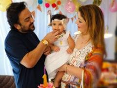 Adnan Sami Celebrates Daughter Medina's First Birthday. See Pics