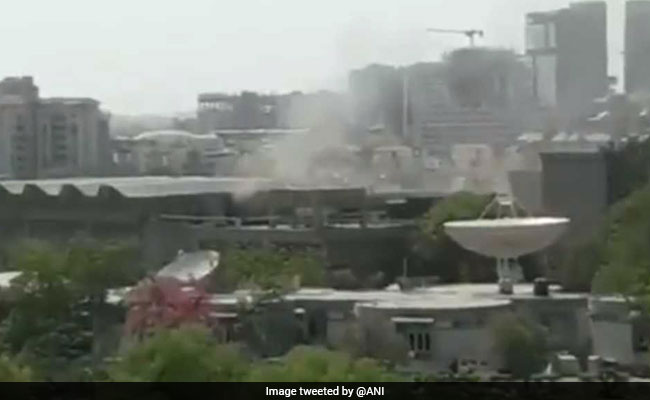 Fire Breaks Out At ISRO High-Tech Facility At Ahmedabad