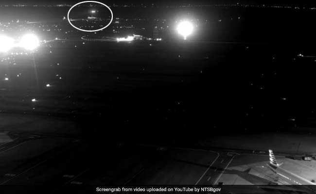 Bright Lights Baffled Tired Pilots Before Near-Collision In San Francisco