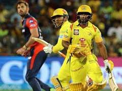 IPL 2018: CSK के अंबाती रायुडू इस तरह रन आउट हुए कि हर किसी को आई हंसी, देखें VIDEO