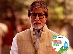 Live Updates: Amitabh Bachchan Launches Season 5 Of NDTV-Dettol Banega Swachh India