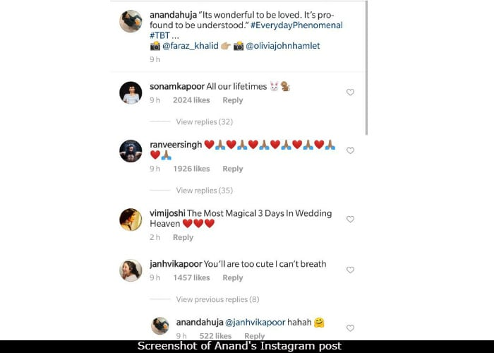anand ahuja instagram