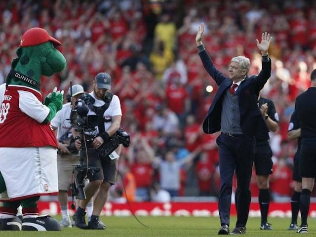 Premier League: Merci Arsene As Arsenal Bid Farewell To Wenger