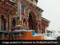 Badrinath Shrine Reopens For Pilgrim After Winter Break