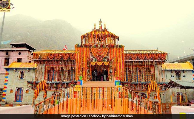 बद्रीनाथ धाम में 600 साल बाद चढ़ाया गया नया सोने का छत्र