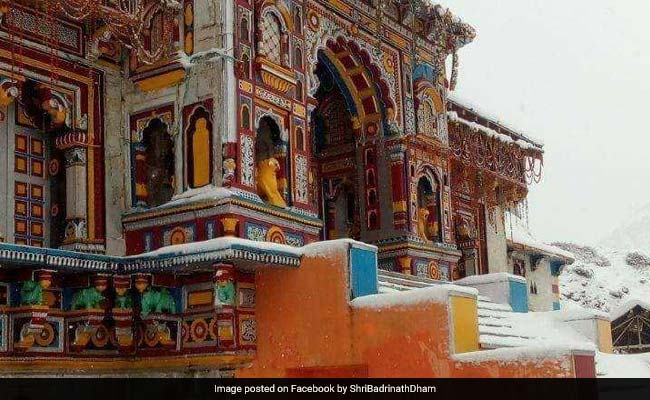 Badrinath Temple To Be Re-Opened For Pilgrims On May 10
