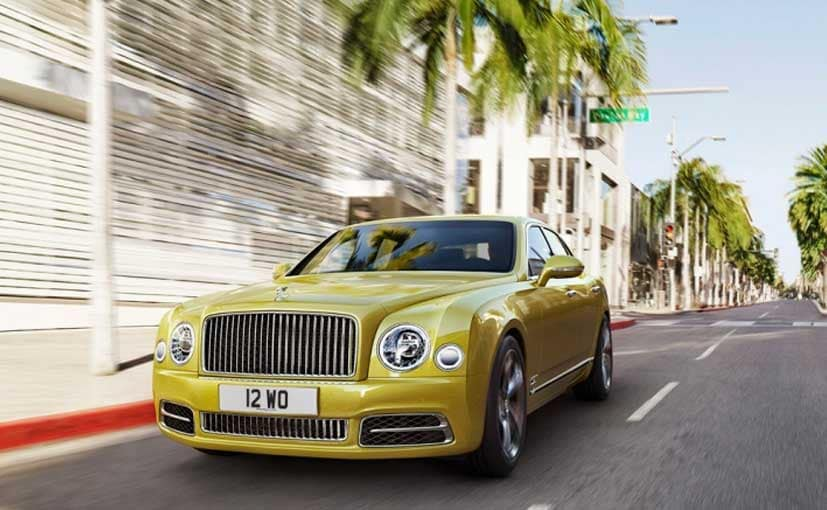 Next-Generation Bentley Mulsanne Could Get Electric Motor
