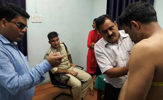 Medical Tests In 1 Room For Men And Women Cop Recruits In Madhya Pradesh