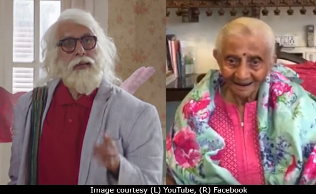 When '102' Amitabh Bachchan Received Best Wishes From A '103 Not Out' Fan