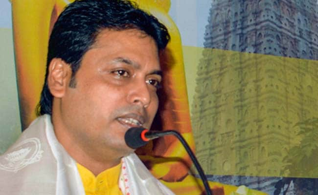 Tripura Alleges Bengal Did Not Cooperate For Biplab Dev's Visit
