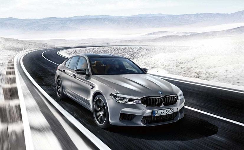 The new BMW M5 Competition will be available from July 2018