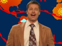 Brad Pitt Makes A Comeback As The Depressing Weatherman In <I>The Jim Jefferies Show</i>