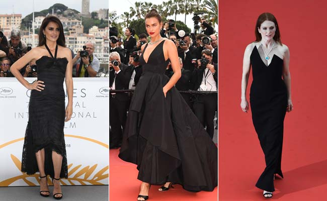 Cannes 2018: 3 Black Dresses That Stopped Our Hearts