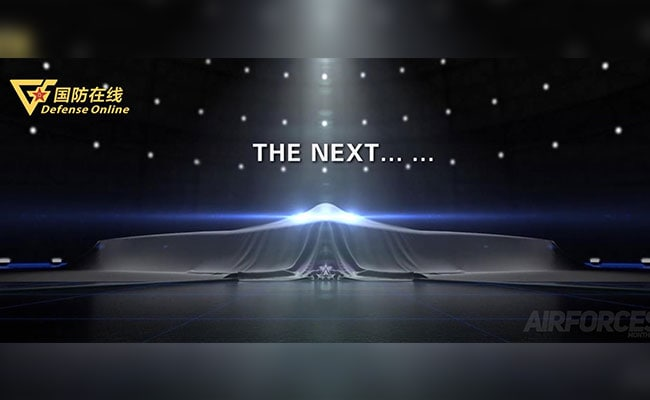 China Teases Images Of Its First Stealth Bomber