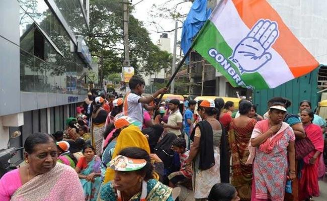 congress karnataka supporters afp