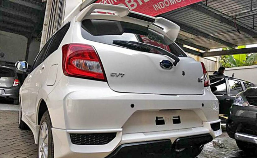 Datsun Go Facelift With CVT Spied In Indonesia - NDTV ...