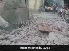 Over 10 Labourers Feared Trapped After Building Collapses In North Delhi