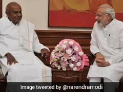 "In Handling Of Cauvery Water, BJP Could Boost ""Secret Ally"" Deve Gowda"