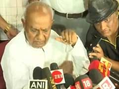 No Danger To Kumaraswamy Government, Says JDS Chief HD Deve Gowda