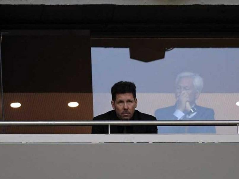 Atletico coach Simeone banned from Europa League final