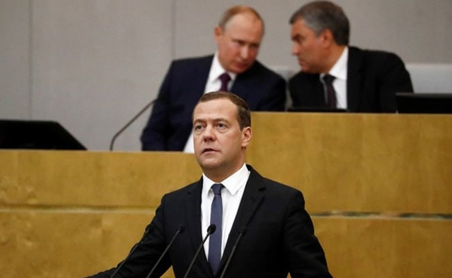 Dmitry Medvedev Confirmed As Russian Prime Minister In Parliament Vote