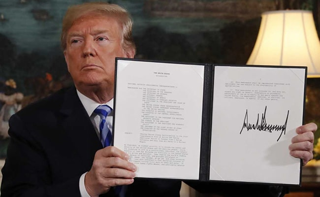 Donald Trump Pulls US Out Of Iran Nuclear Deal: What It Means For You