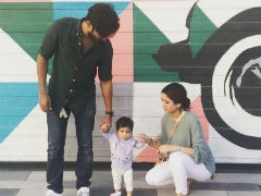 Viral: Dulquer Salmaan Shares First Pic Of Daughter Maryam On First Birthday