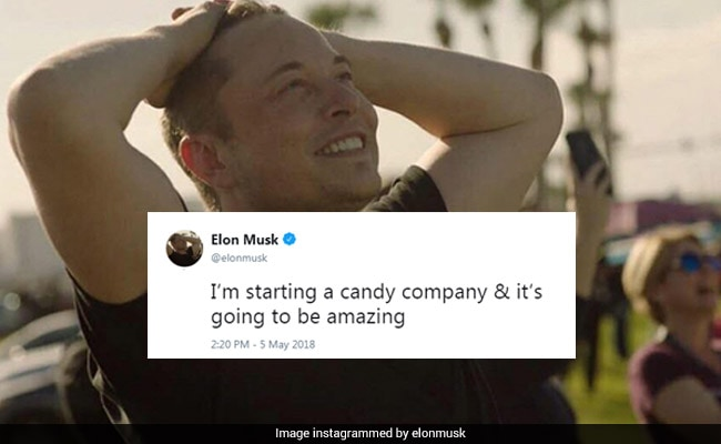 Elon Musk Tweets About Starting Candy Company. He's 'Super Serious'