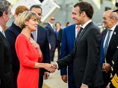 "Emmanuel Macron Thanks Australian PM Malcolm Turnbull's ""Delicious Wife"""