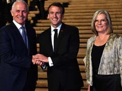 Lucy Turnbull Flattered After Macron's 'Delicious' Faux Pas, Says PM Malcolm Turnbull