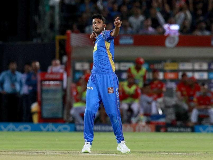 IPL 2018: Watch As Krishnappa Gowtham Goes