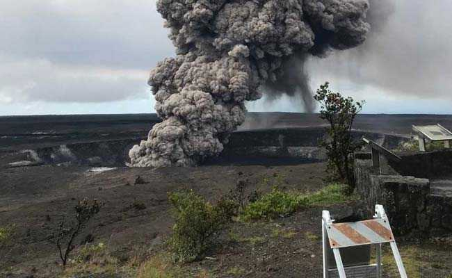 Risk Of Explosive Eruptions For Hawaii's Kilauea Volcano Says US Geological Survey