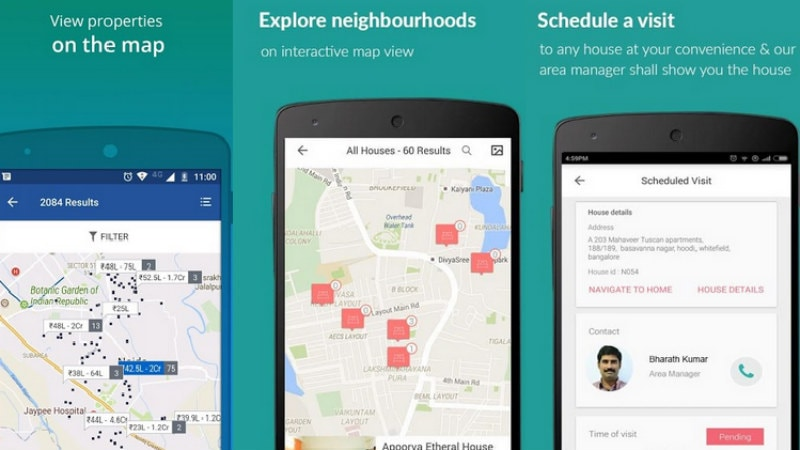 5 apps to use if looking to rent a house, room, PG or Flat