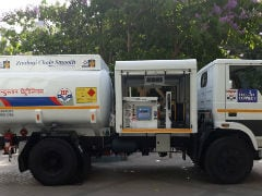 Hindustan Petroleum Starts Diesel Fuel Home Delivery Services In Mumbai