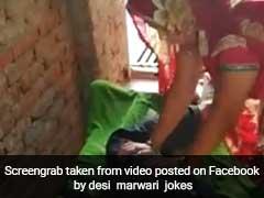 VIDEO: पति के पैर दबाते हुए पत्नी ने किया ऐसा, हंसी नहीं रोक पाएंगे आप